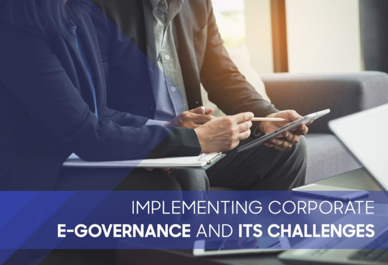 Implementing Corporate E-Governance and its Challenges