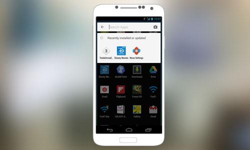 Search BoxQuick Access AndroidM