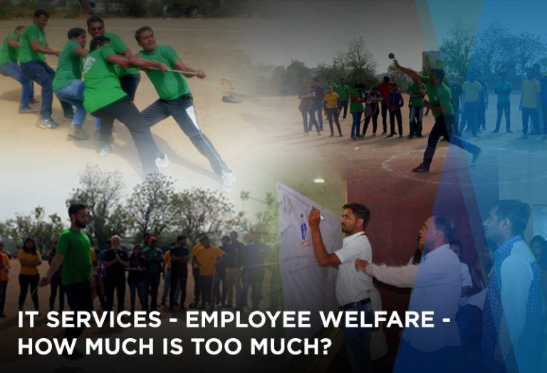 IT Services – Employee Welfare – How much is too much?