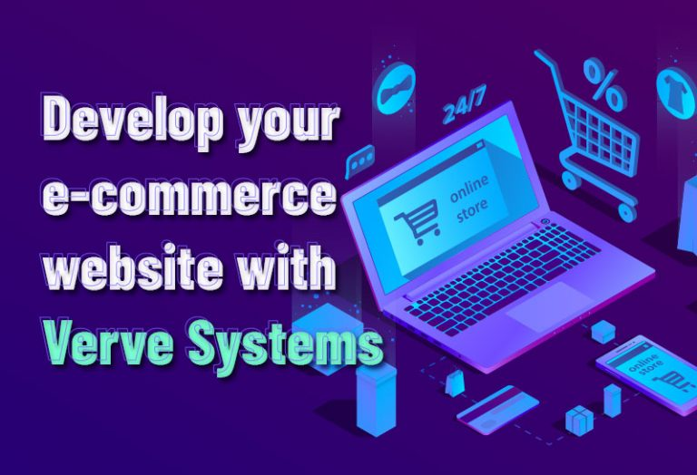 Develop your e-commerce website with Verve Systems